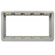 Ramka aluminiowa do 5 kaset jedno rzędowych /03X0305/  -kolor srebrny metaliczny (MIFON)