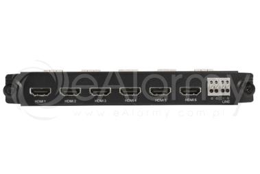 BCS-P-KHDMI-6 Karta rozszerzeń do rejestratorów, 6 wyjść HDMI BCS POINT