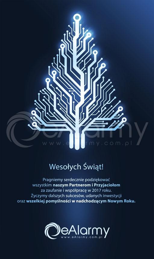 Najserdeczniejsze życzenia bożonarodzeniowe składa ekipa eAlarmy.pl