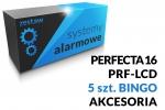 Zestaw alarmowy [13] PERFECTA 16 SET-A, PRF-LCD SATEL, BINGO, akcesoria