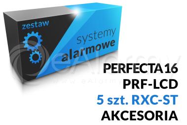 Zestaw alarmowy [14] PERFECTA 16 SET-A, PRF-LCD SATEL, RXC-ST OPTEX, akcesoria