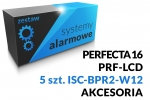 Zestaw alarmowy [15] PERFECTA 16 SET-A, PRF-LCD SATEL, ISC-BPR2-W12 BOSCH, akcesoria