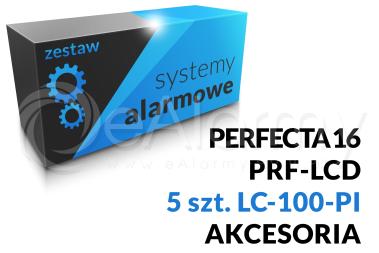 Zestaw alarmowy [16] PERFECTA 16 SET-A, PRF-LCD SATEL, LC-100-PI DSC, akcesoria