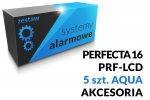 Zestaw alarmowy [17] PERFECTA 16 SET-A, PRF-LCD, AQUA Plus SATEL, akcesoria