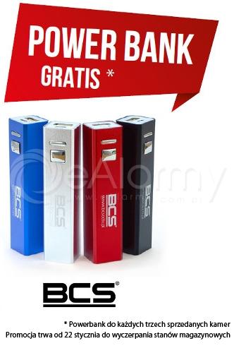 Promocja BCS - PowerBank GRATIS
