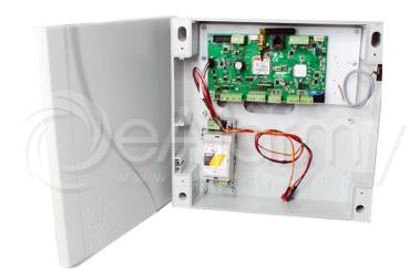 OptimaGSM-SET Centrala alarmowa ROPAM w obudowie z zasilaczem