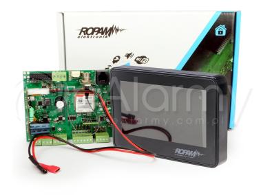 ZP-OptimaGSM-SET-TPR-4B Zestaw centrala alarmowa oraz manipulator ROPAM