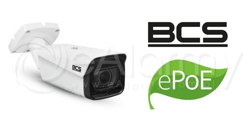 Technologia ePoE w kamerach BCS - technologia transmisji obrazu i zasilania w monitoringu IP
