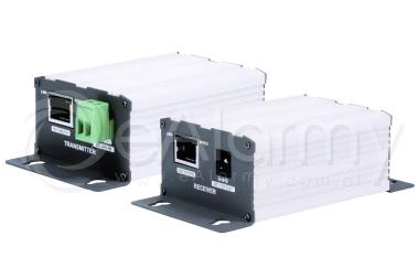 15-EOC01K Zestaw transmisji sygnału IP kablem RG59 COP Security