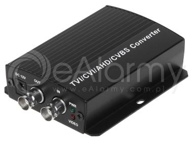Konwerter sygnału CVI, TVI, AHD na HDMI