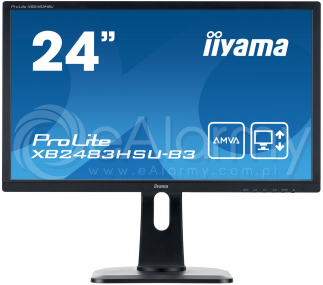 "ProLite XB2483HSU-B3 Monitor 24"" AMVA, HDMI, DVI-D IIYAMA"