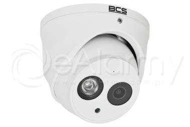 BCS-DMIP2801AIR-IV Kamera IP, 8.0 Mpx, 2.8mm, kopułowa BCS