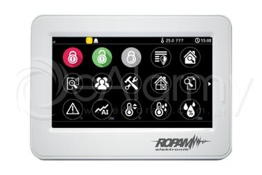 TPR-4WS Panel dotykowy w białej obudowie natynkowej ROPAM
