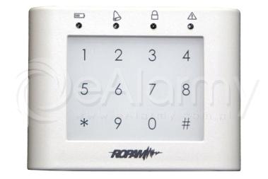 TK-3W Panel dotykowy, strefowy ROPAM