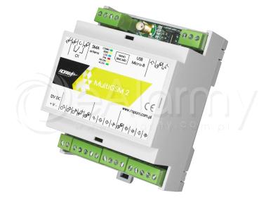 MultiGSM-D4M 2 Moduł powiadomienia i sterowania GSM ROPAM