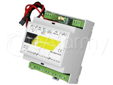 MultiGSM-PS-D4M 2 Moduł powiadomienia i sterowania GSM ROPAM