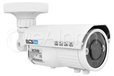 BCS-TQ6201IR3-B Kamera tubowa 4w1, 1080p, 2.8-12mm, biała BCS