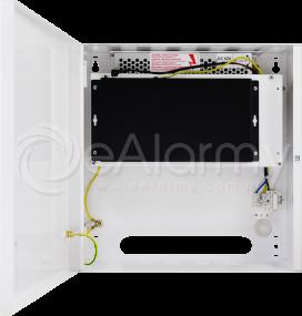 S108-C 10-portowy switch PoE dla 8 kamer IP, 8x PoE + 2x UPLINK, metalowa obudowa Pulsar