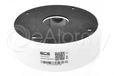 BCS-ADMQ4-B(II) Puszka montażowa, biała dedykowana do kamer kopułowych BCS