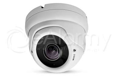 EVX-FHD202IR-W Kamera kopułowa 4w1, 1080p, 2.8-12mm, biała EVERMAX