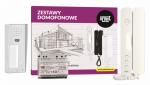 6025/401-N Zestaw domofonowy, 1 przycisk wywołania, natynkowy Urmet
