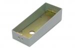 04X0001A Ramka kasety jednorzędowej natynkowa srebrna MIFON