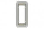 03X0301A Ramka kasety jednorzędowej podtynkowa srebrna MIFON