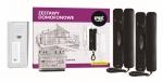 6025/442-RF-N Zestaw domofonowy, 2 przyciski wywołania + czytnik zbliżeniowy RFID, natynkowy Urmet