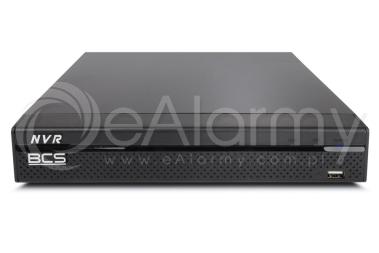 BCS-NVR0401X5ME-P-II Rejestrator IP 4 kanałowy ze switchem PoE, 8MPx BCS