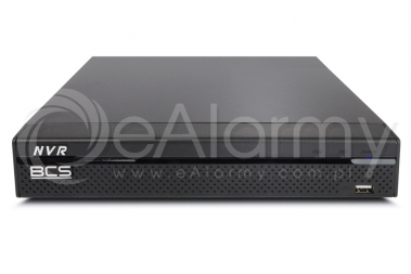 BCS-NVR0801X5ME-II Rejestrator IP 8 kanałowy, 8MPx BCS