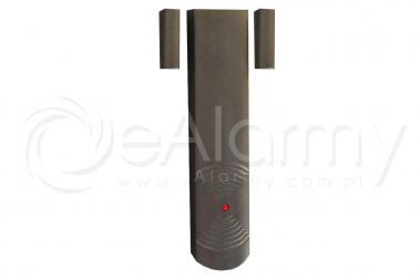 CTX5DB Bezprzewodowy detektor otwarcia i zamknięcia, podwójny ELMES
