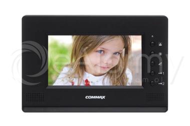 """CDV-70AR3(DC) BLACK Monitor kolorowy 7"""", doświetlenie LED, dodatkowe sterowanie bramy COMMAX"""