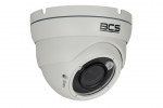 BCS-DMQE4200IR3-B Kamera kopułowa 4w1, 1080p, zasięg IR do 40m, biała BCS