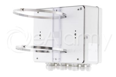 BCS-OB-2 Adapter słupowy do mocowania obudów zewnętrznych BCS