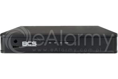 BCS-P-NVR0801-8P-E Rejestrator IP PoE 8-kanałowy 2Mpx BCS POINT