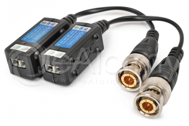 EVX-T503-HD Transformator video AHD CVI TVI pasywny 5 Mpx / 4 Mpx / 1080p, zestaw 2 szt. EVERMAX