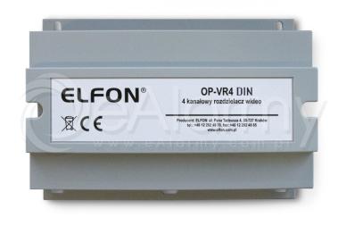 OP-VR4 DIN Rozdzielacz sygnału do systemu Optima ELFON