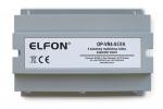 OP-VR4-S DIN Rozdzielacz sygnału do systemu Optima, separator zwarć ELFON