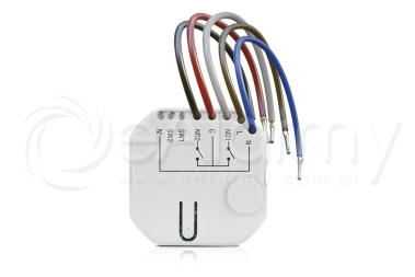 ASW-210 Sterownik 230 VAC, dwukanałowy ABAX 2 SATEL