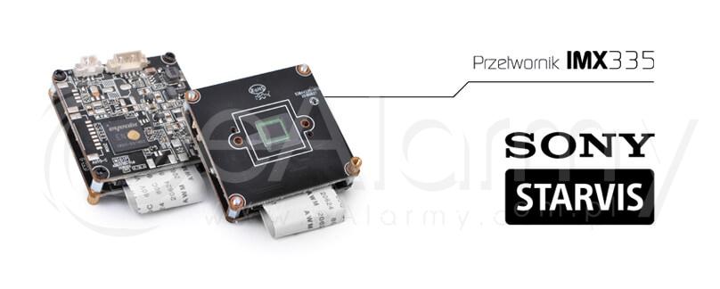 IMX335 STARVIS CMOS Przetwornik obrazu od firmy SONY. Kamery 4-systemowe serii EVX-FHD EVERMAX 5.0 MPx