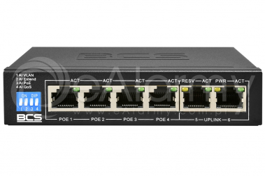 BCS-B-SP04G02G Switch PoE BCS BASIC 4x PoE, 2x RJ45