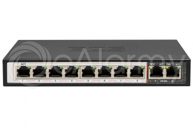 BCS-B-SP08G02G Switch PoE BCS BASIC 8x PoE, 2x RJ45