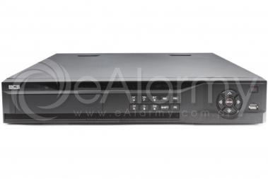 BCS-NVR16045ME-P-II Rejestrator IP 16 kanałowy ze switchem PoE, 8MPx BCS