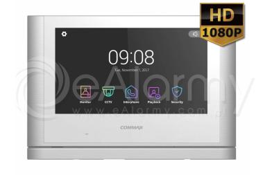 "CDV-1024MA(DC) Monitor kolorowy HD 10"", obsługa dwóch wejść COMMAX"