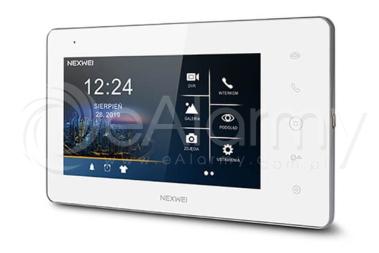 """NW-VI9S-W Monitor kolorowy HD 7"""", IPS NEXWEI"""