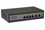 CIOT-H4L2 Switch PoE 6-portowy do systemu wideodomofonowego IP COMMAX