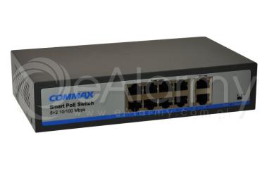 CIOT-H8L2 Switch PoE 10-portowy do systemu wideodomofonowego IP COMMAX