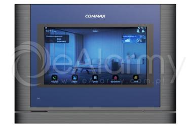 "CIOT-700ML DARK SILVER Monitor 7"" systemu wideodomofonowego IP COMMAX"