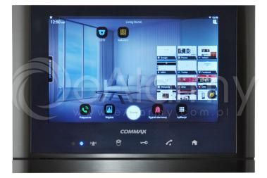"CIOT-1020M DARK SILVER Monitor 10,2"" systemu wideodomofonowego IP COMMAX"