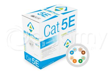 KIU5PVC305 Przewód UTP kat. 5e ALANTEC [BOX 305m]